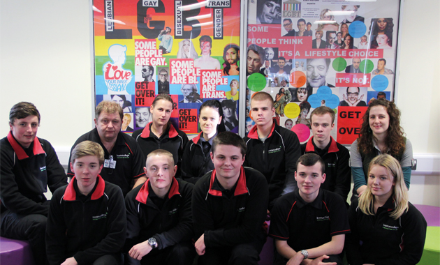 Public service learners mark LBGT history month