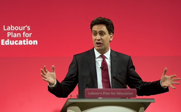 Miliband announces that Labour would protect 16 to 19 funding