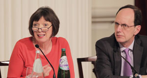 Frances O'Grady and John Cridland.