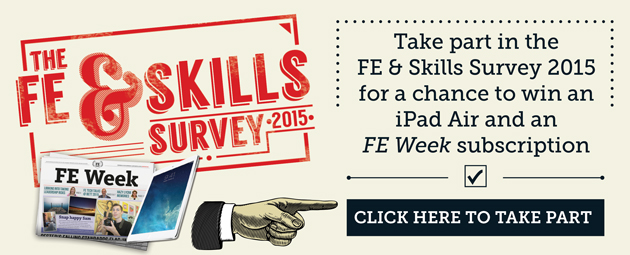 FE Week launches 2015 survey — prizes on offer for your opinions