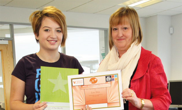 Double award joy for volunteer Lois