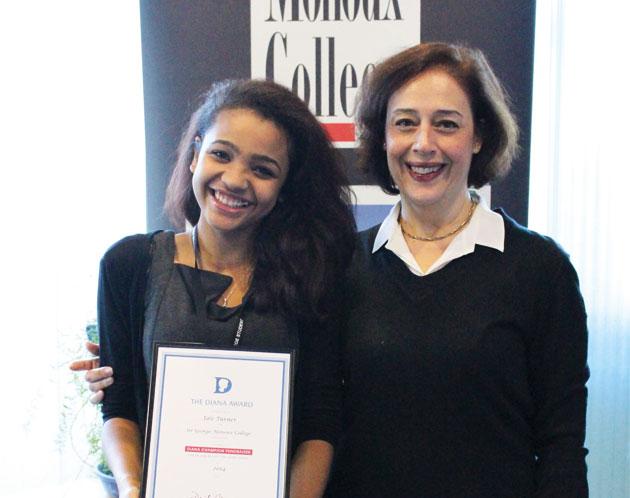 Diana Award recognition after cancer struggle
