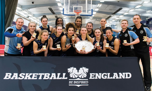 College girls on the ball to help Wolves team to national glory