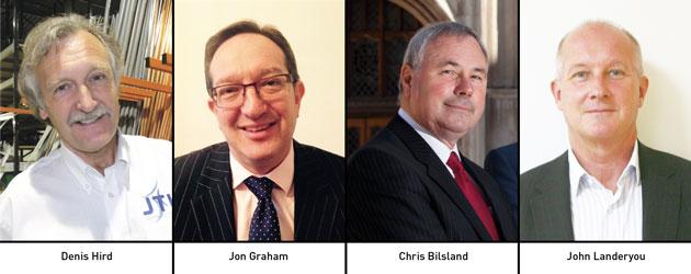 Edition 128: Denis Hird, Jon Graham, Chris Bilsland & John Landeryou