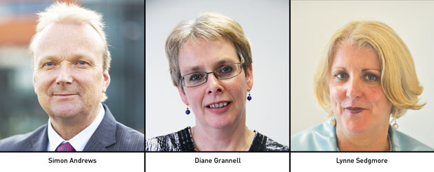 Edition 126: Simon Andrews, Diane Grannell and Lynne Sedgmore