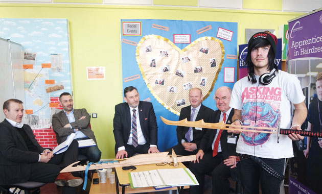 Carpenter carves out £1k cash prize for swords