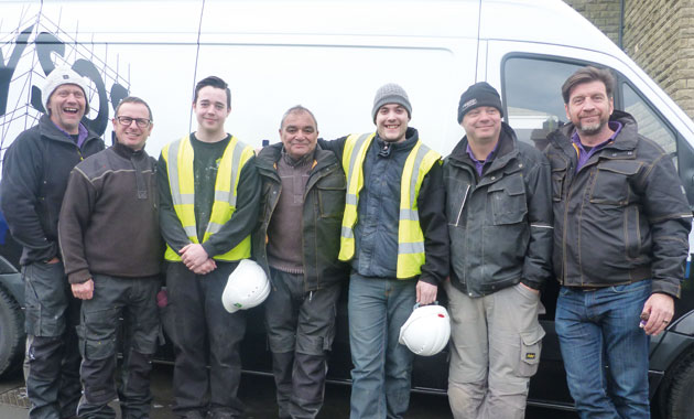 Apprentices answer DIY SOS call