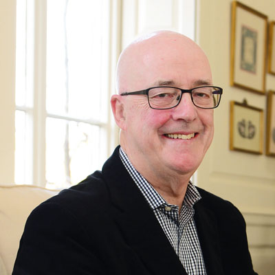 Rod Bennion, former chairman of trustees, Construction Youth Trust
