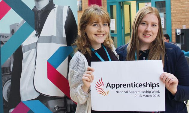 Apprenticeship week keenness at Milton Keynes