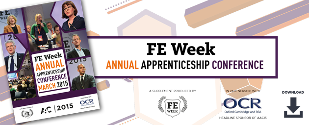 FE Week Annual Apprenticeship Conference 2015