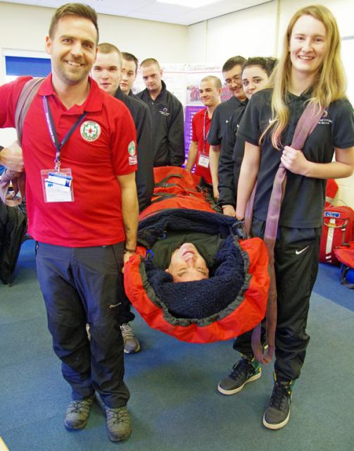 Public service learners 'rescue' tutor