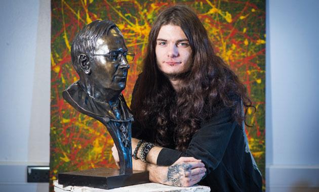 Sculpture success for Adam's royal bust