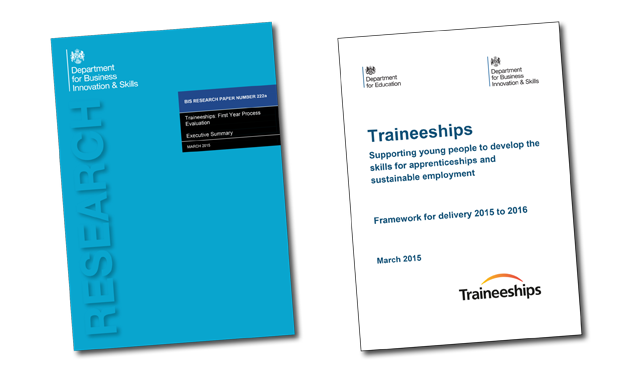 Most traineeships lead to apprenticeships, employment or further learning, according to government research