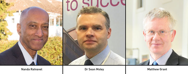 Edition 131:  Nanda Ratnavel, Dr Sean Moley & Matthew Grant