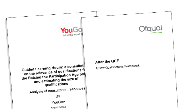 Ofqual praised over decision to simplify how qualification sizes will be described after QCF scrapped