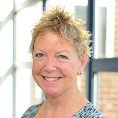 Lindsey Noble, interim principal, Greenwich Community College
