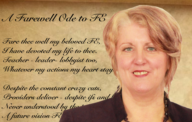 Dr Lynne Sedgmore to become FE and skills' first Poet Laureate