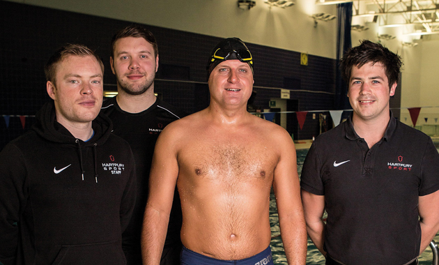 Sea change in training for 2,000-mile swim