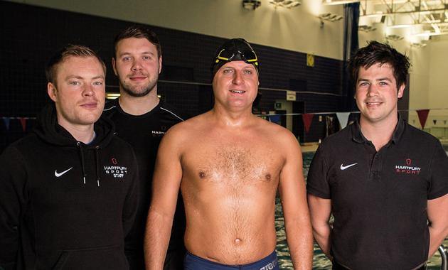 Sea change in training for 2,000-mile swim