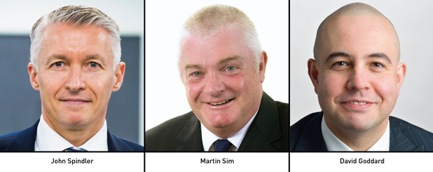 Edition 135: John Spindler, Martin Sim & David Goddard