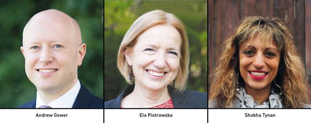 Edition 136: Andrew Gower, Ela Piotrowska & Shobha Tynan