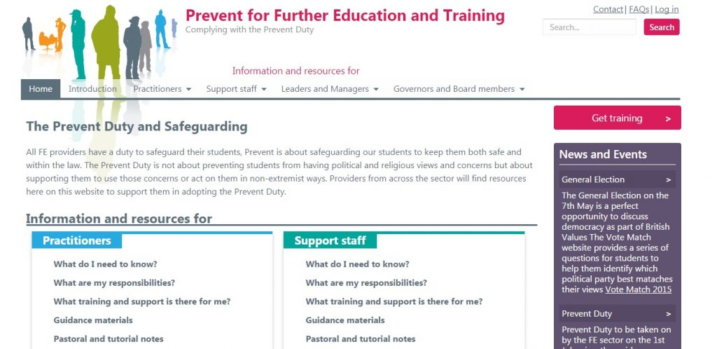 Anti-terrorism website launches for FE and skills providers