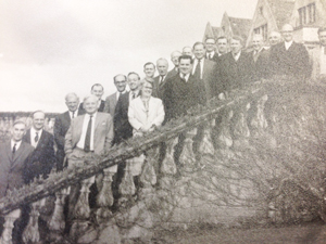 Staff and students from the FE Staff College pictured around 1963