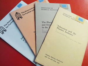 Pamphlets published by The Association of Technical Institutions and Association of Colleges for Further and Higher Education