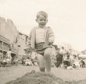 Hatton as a child in the late 1950s