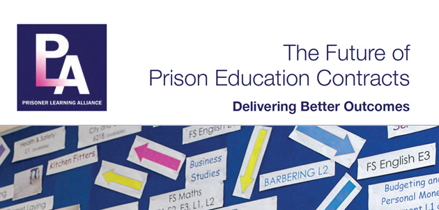 Report calls on government to extend providers' prison learning contracts for a year
