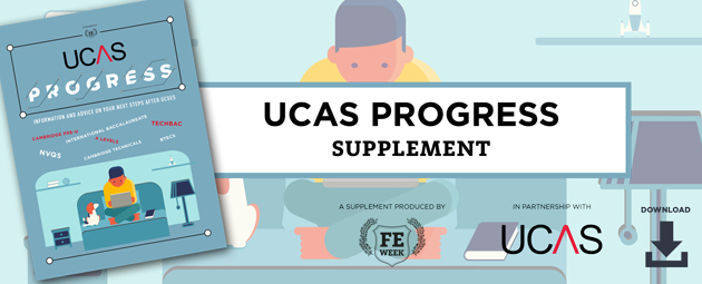 UCAS - INFORMATION AND ADVICE ON THE NEXT STEPS AFTER GCSEs