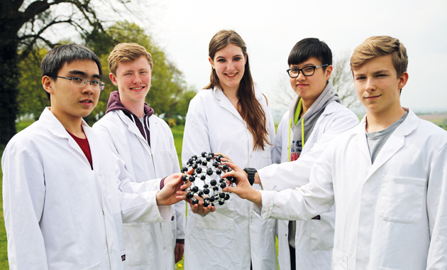 Student chemists find solutions