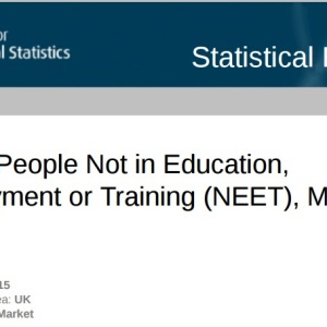 Fall in number of young people not in education, employment or training