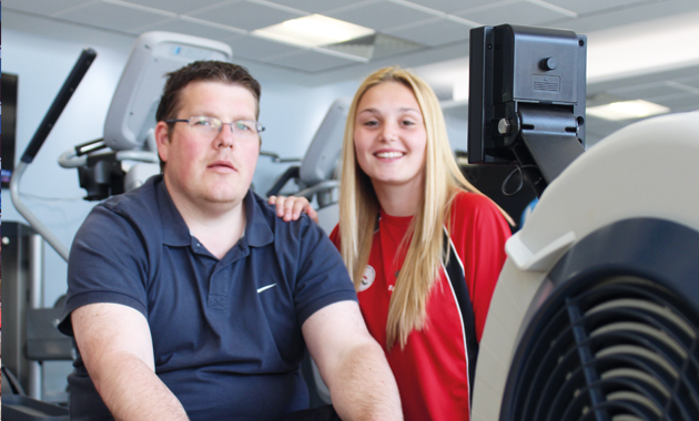 Sporty learners help recovery