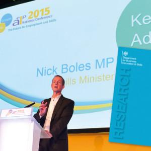 Boles justifies apprenticeships favour
