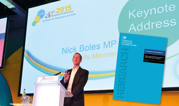 Boles justifies apprenticeships favour