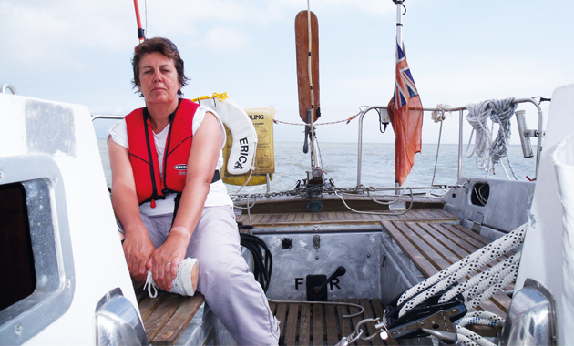 Long-time lecturer Anne sets sail for new life