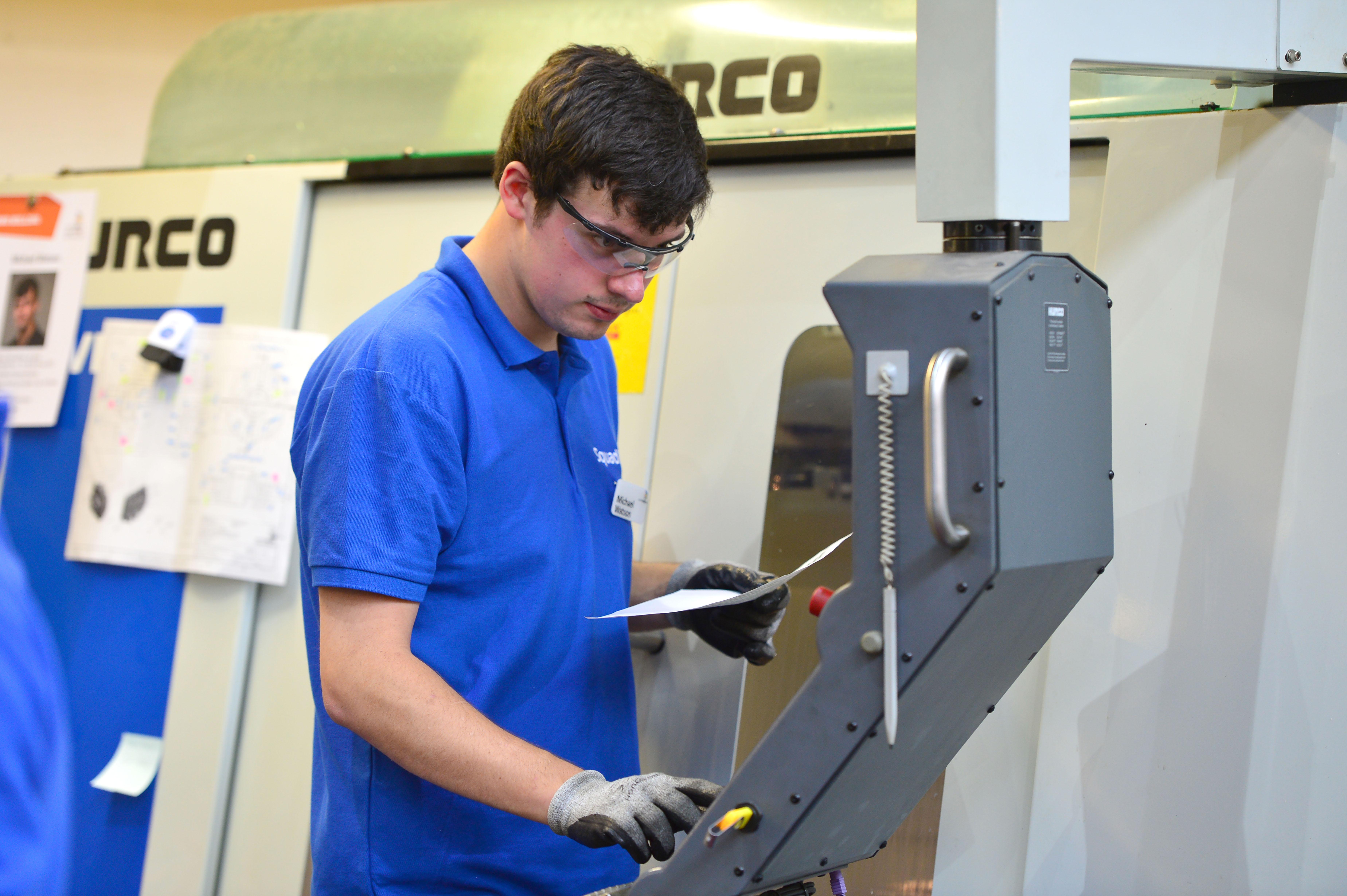Michael Watson — CNC milling