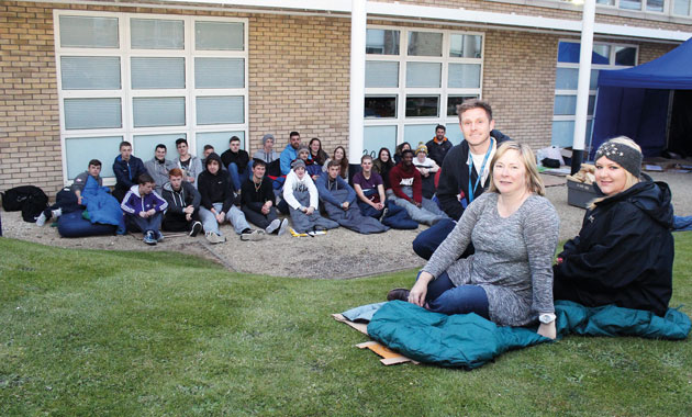 Learners lose sleep over homeless