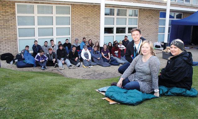 Learners lose sleep over homeless