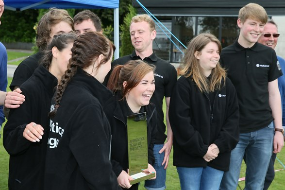 Closest ever Brathay Challenge final as apprentice teams finish in dead heats