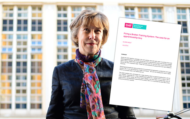 Professor Wolf calls for all employers to pay apprenticeship levy as she rejects Conservative manifesto funding plans