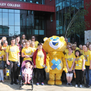 Barnsley College students head to the streets in aid of critically-ill children