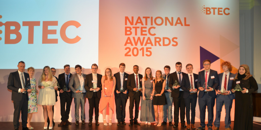 Outstanding BTec learners honoured at plush Royal Horticultural Halls event