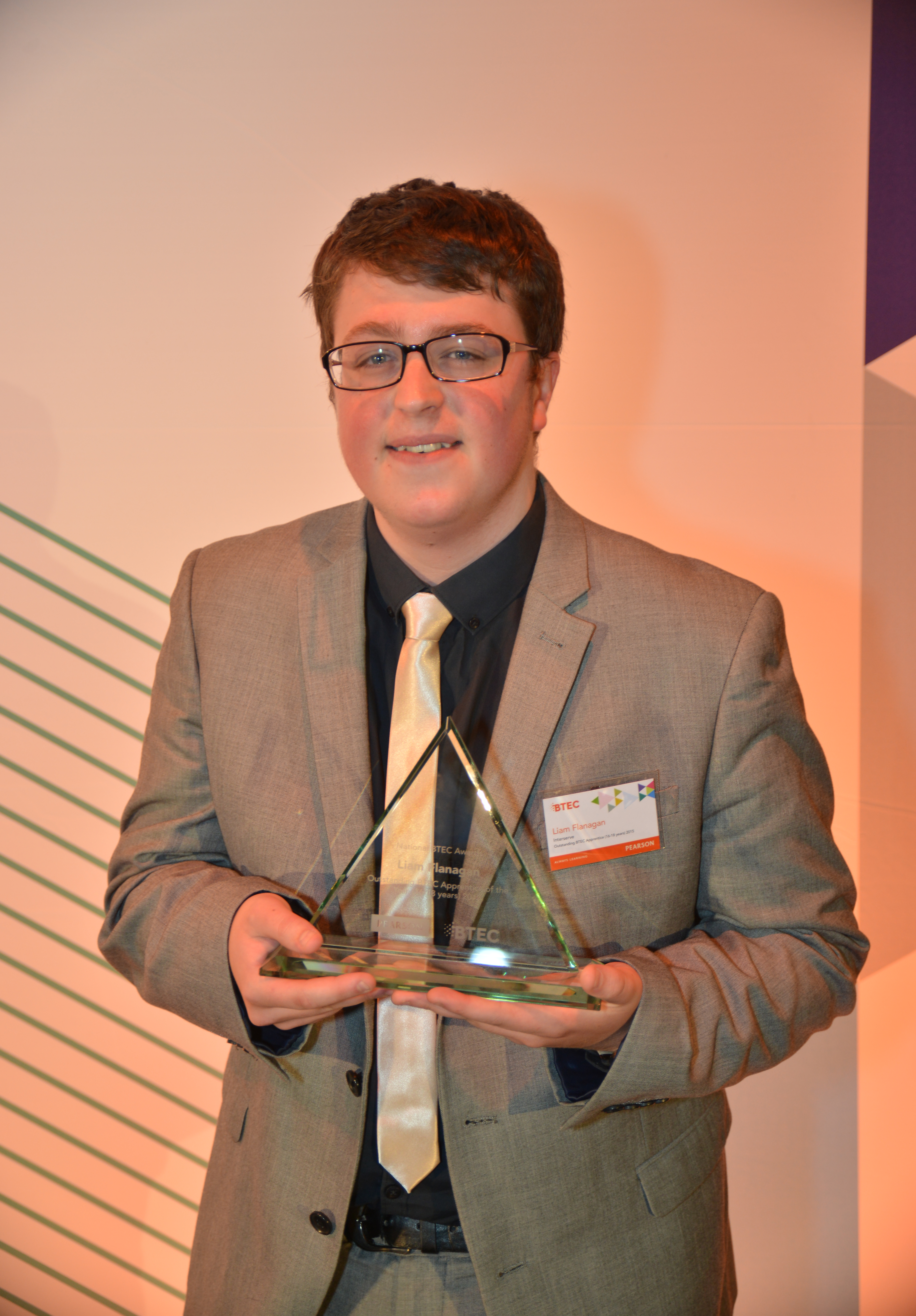Liam Flanagan, aged 19, Howells Solicitors Sheffield
