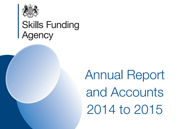 Eight things we learned from the Skills Funding Agency's annual accounts