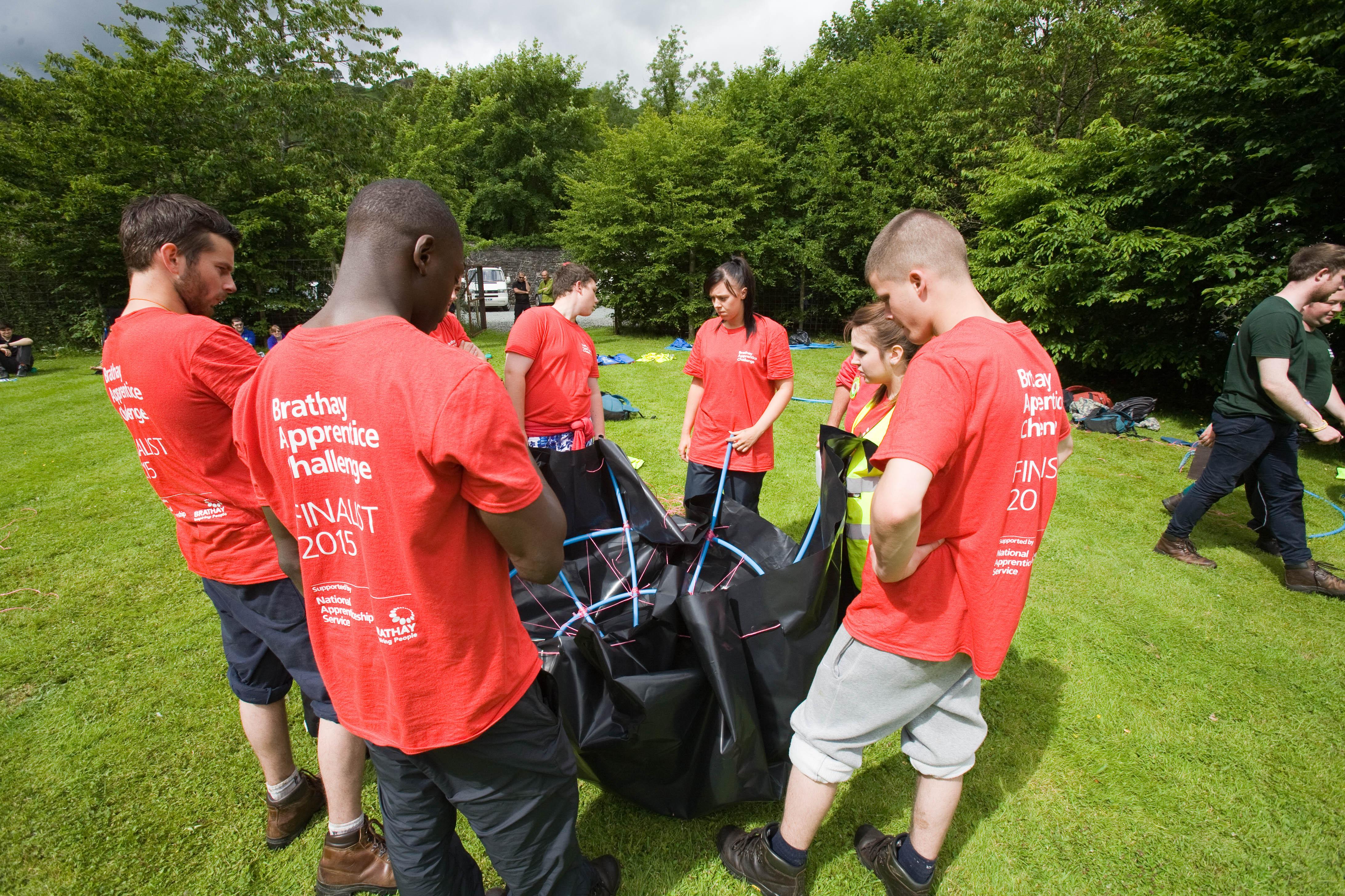 Team Nottingham city homes apprentices