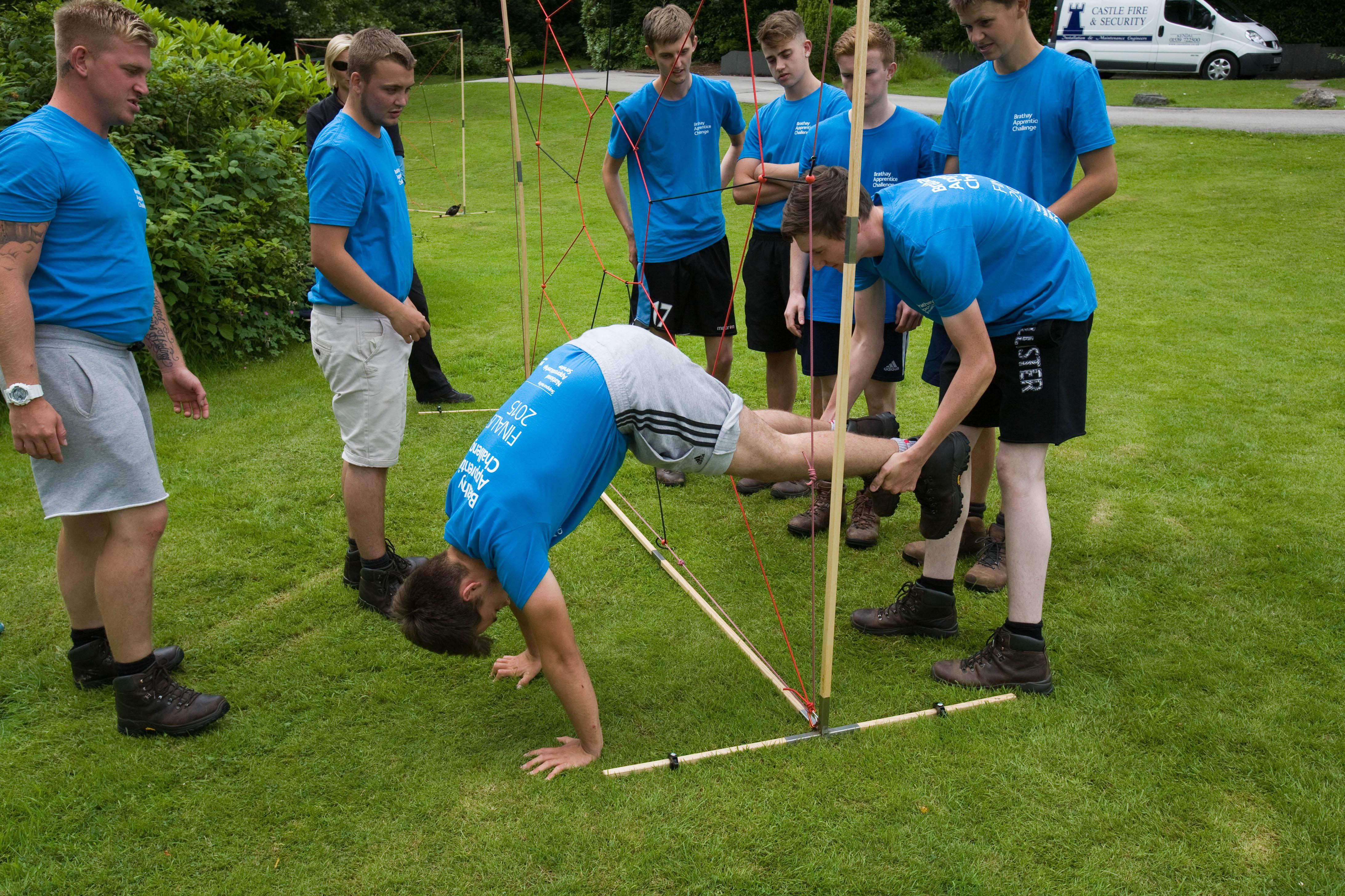 Team Redrow Homes apprentices