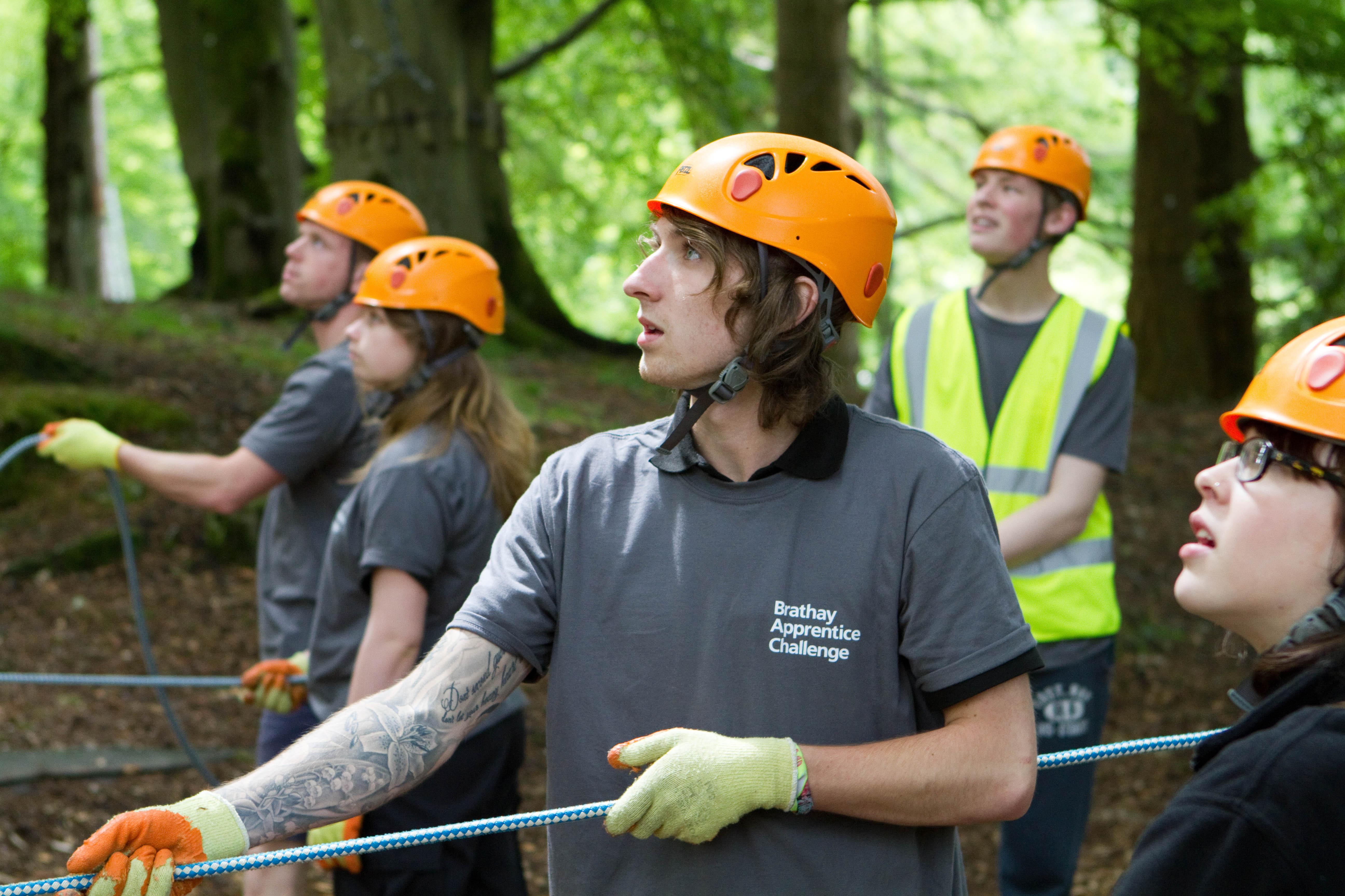 Team Sellafield apprentices