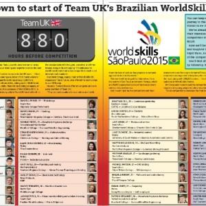 WorldSkills Spread July 2105